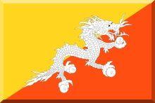 Bhutan - flaga