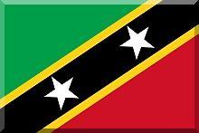 Saint Kitts i Nevis - flaga