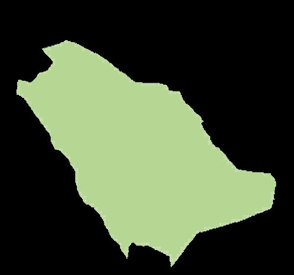 Arabia Saudyjska mapa