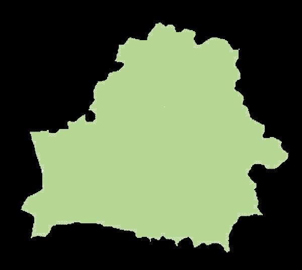 Białoruś mapa