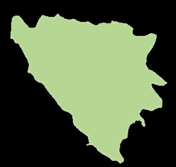 Bośnia i Hercegowina mapa