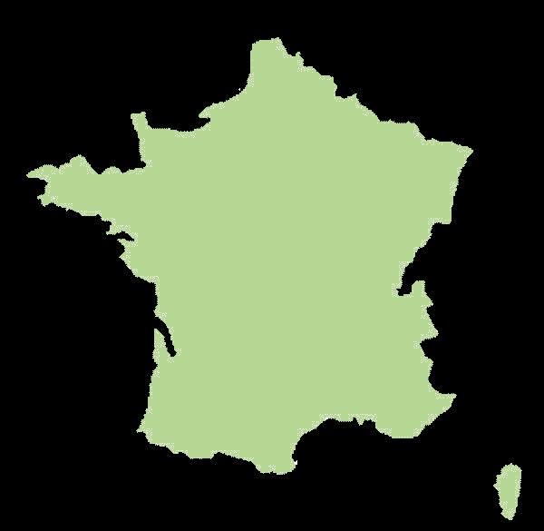 Francja mapa