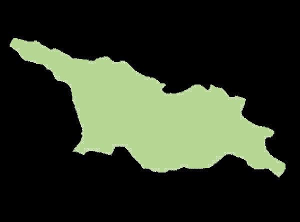 Gruzja mapa