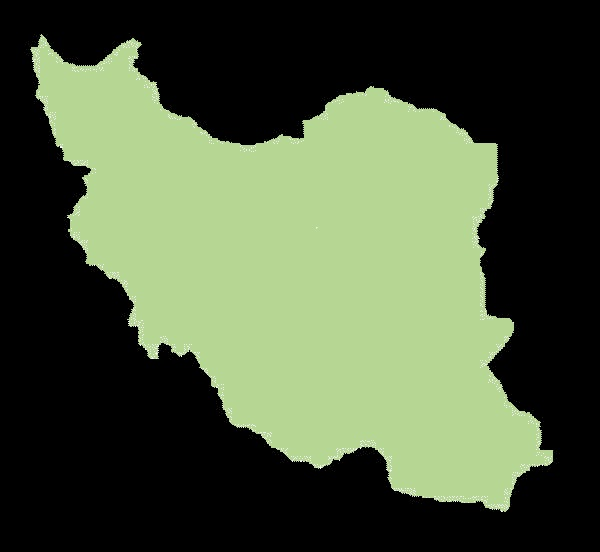 Iran mapa