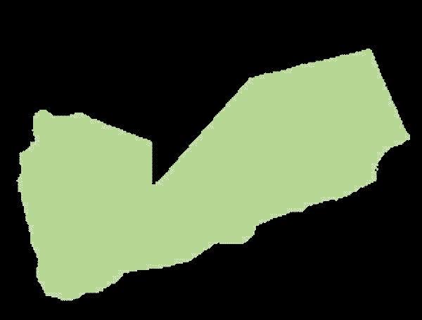 Jemen mapa