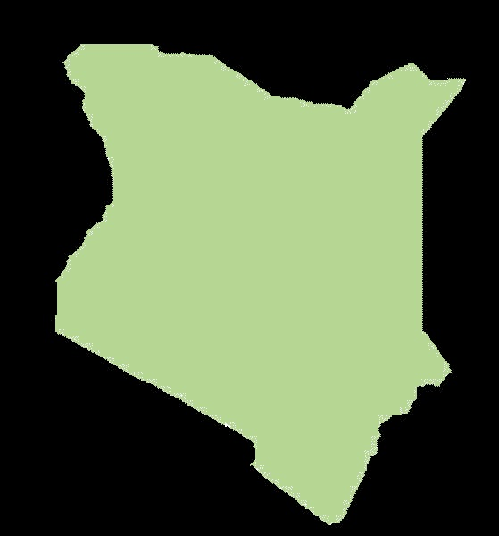 Kenia mapa