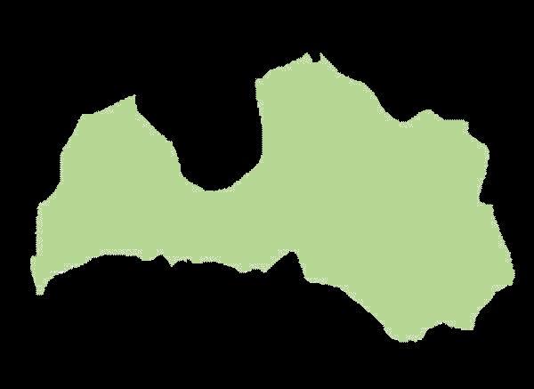 Łotwa mapa