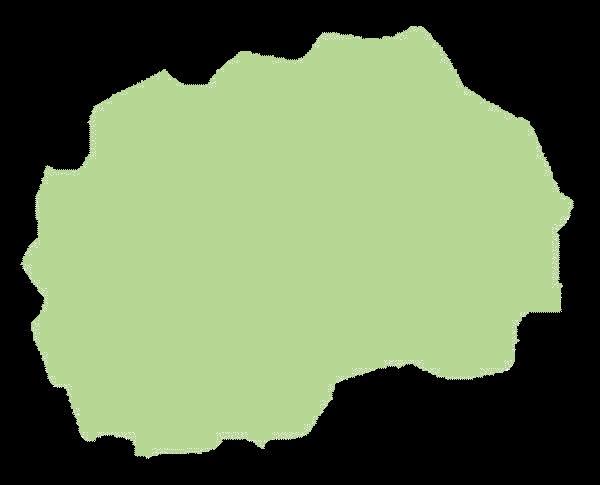 Macedonia mapa