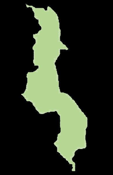 Malawi mapa