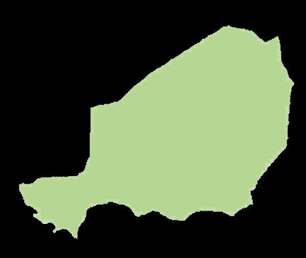 Niger mapa