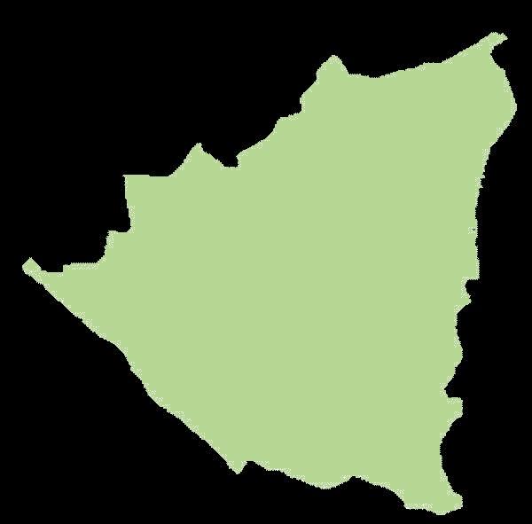 Nikaragua mapa