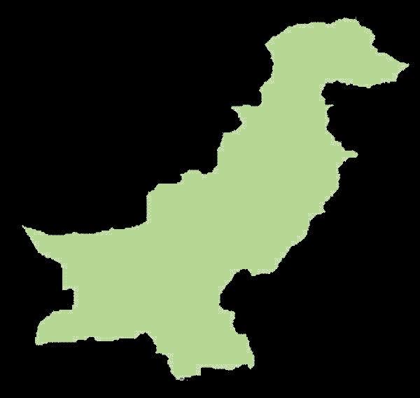 Pakistan mapa