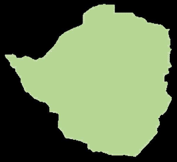 Zimbabwe mapa