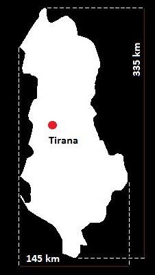 Albania mapa