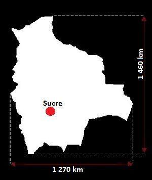 Boliwia mapa
