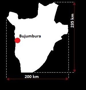 Burundi mapa