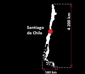 Chile mapa