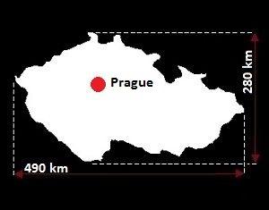 Czechy mapa