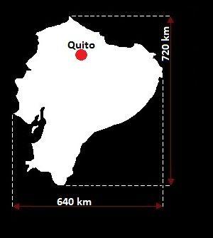 Ekwador mapa