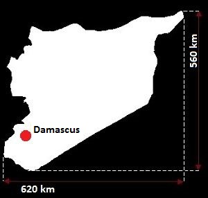 Syria mapa