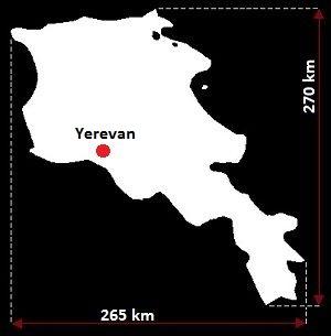 Erywań mapa