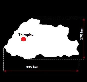 Thimphu mapa