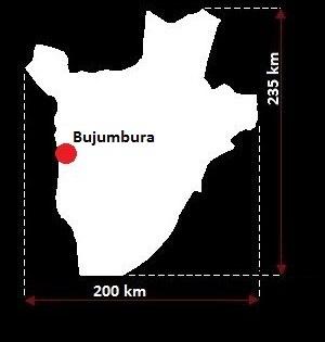 Bużumbura mapa