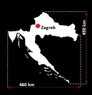 Zagrzeb mapa