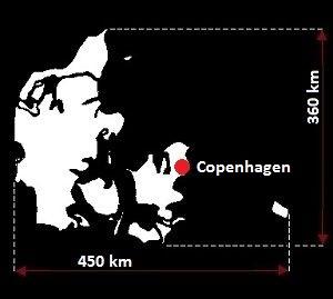 Kopenhaga mapa