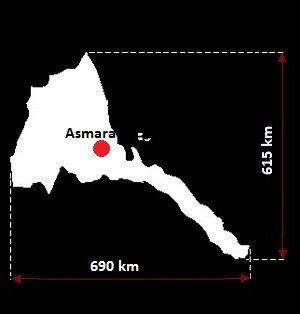 Asmara mapa