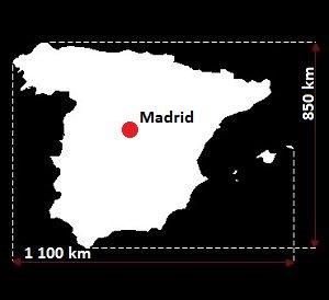 Madryt mapa