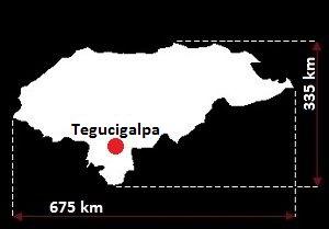 Tegucigalpa mapa