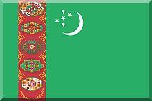 turkmenistan - flaga