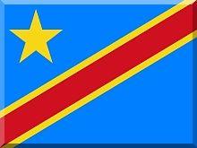 Demokratyczna republika konga - flaga