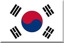 Korea Południowa - flaga