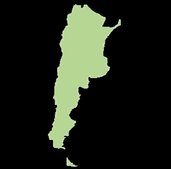 Argentyna mapa