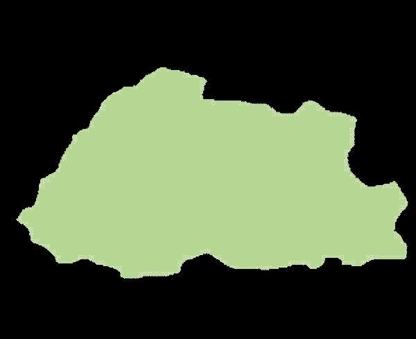 Bhutan mapa