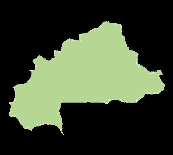 Burkina Faso mapa