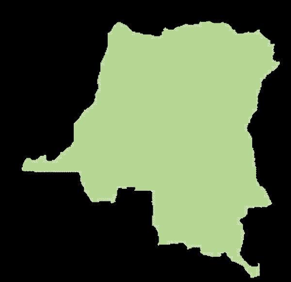 Demokratyczna Republika Konga mapa