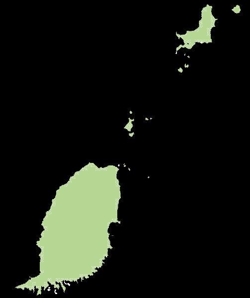 Grenada mapa
