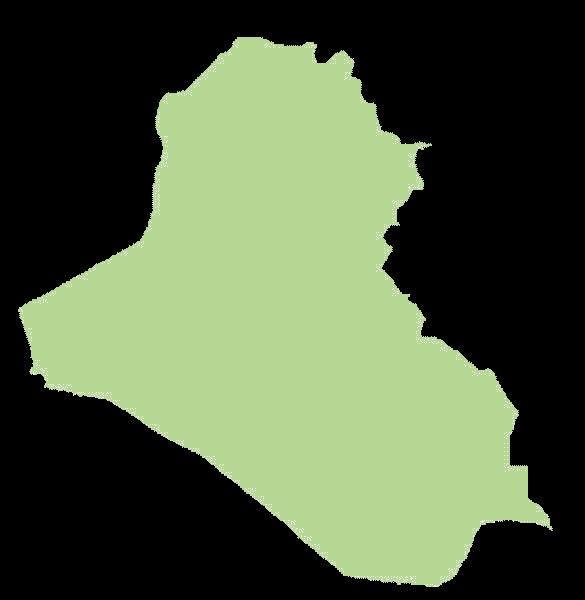 Irak mapa