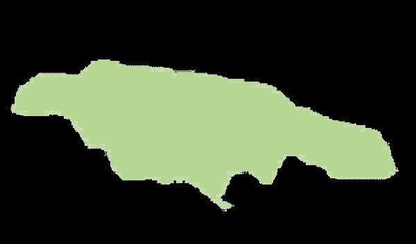 Jamajka mapa