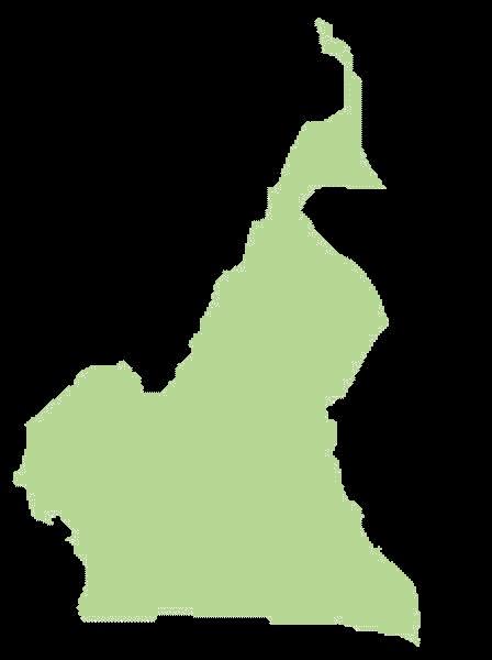 Kamerun mapa