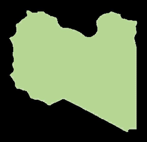 Libia mapa