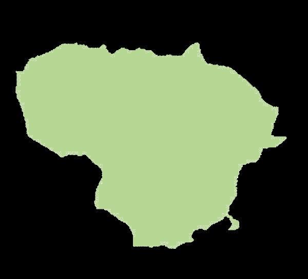 Litwa mapa
