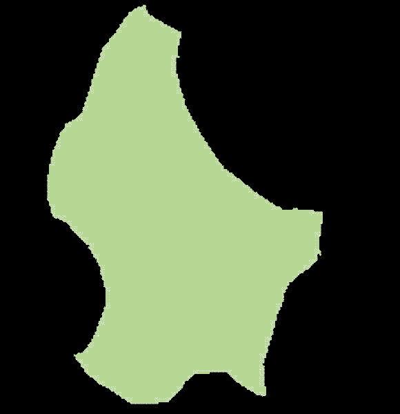 Luksemburg mapa