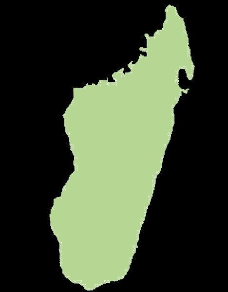 Madagaskar mapa