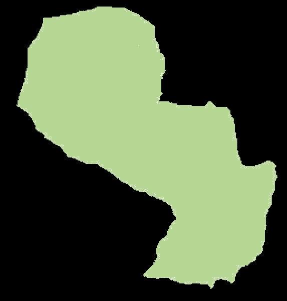 Paragwaj mapa