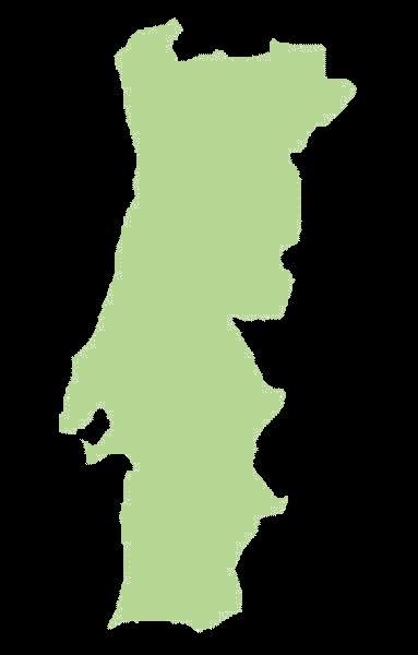 Portugalia mapa