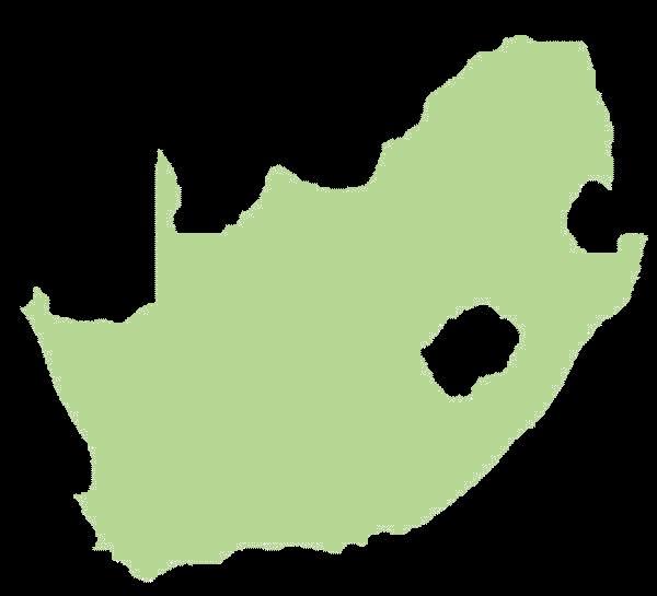 Republika Południowej Afryki mapa